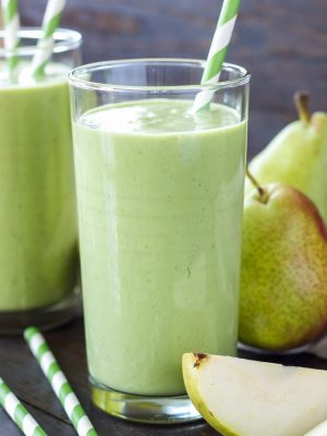 Smoothie the vert poire