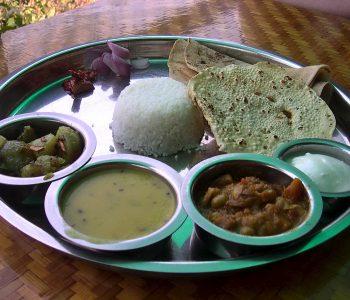 Thali spécialité indienne