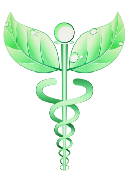 caducée médecine alternative