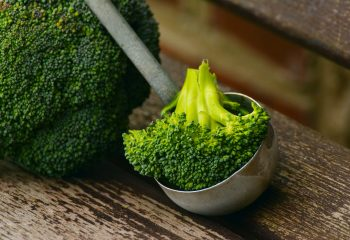Soupe de brocoli et curcuma