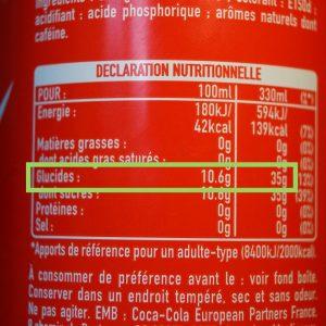 Valeurs nutri Coca 1